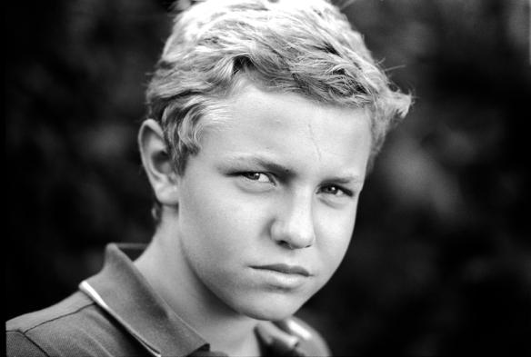 Outdoor portrait - Nikon EL2