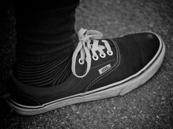 Melissa's foot